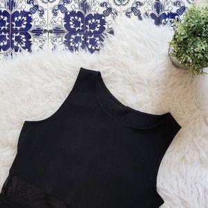 ALL THAT JAZZ straight black maxi dress